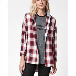 Obey Tops - Obey Plaid Shirt